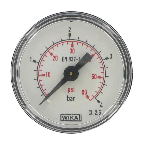 Manometer mit Kunststoffscheibe_4 bar