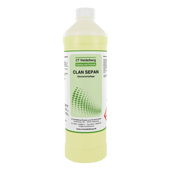 CLAN SEPAN_Glanzwischpflege_1L-Flasche