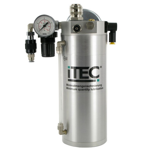 iTEC-XS 100 Druckbehälter mit Handschiebeventil